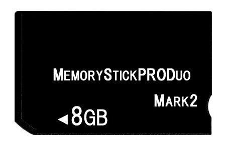 [ 送料無料 ] [ 東芝製チップ ] 採用オリジナルブランド メモリーカード [ メモリースティック ] Pro Duo mark2 8GB [ MemoryStick Pro Duo 8GB フラッシュメモリ ]