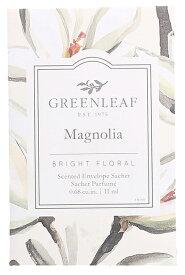 【3980円以上で送料無料】グリーンリーフ フレッシュセンツS MAGNOLIA(マグノリア) GREENLEAF  フレグランス 香り袋 サシェ 車 玄関 クローゼット ロッカー