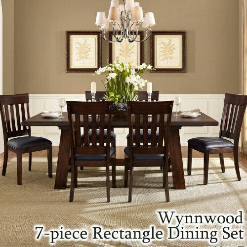 Wynnwood ダイニング7点セットWynnwood 7 Piece Rectangle Dining Set【smtb-ms】0422044
