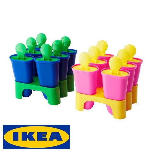 IKEA CHOSIGT アイスキャンディメーカー アイス メーカーイケア アイス作り ブルー/グリーン ピンク/イエローアソートカラー 調理器具 製菓 【smtb-ms】60208479