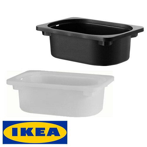 IKEA TROFAST 収納ボックス 20x30x10cm イケア トロファスト おもちゃ 収納 ボックス ホワイト ブラック子ども用 お片づけ コンビネーション DUKTIG ボックス【smtb-ms】80252579 60169312