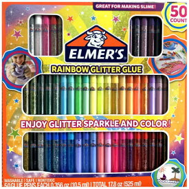 202090Elmer's 3D立体ペン 50本セットNEWElmer's 3D Paint Pens 50 Glitter Colorsエルマー グリッターグルー スライムウォッシャブル 紙 布 プラスチックお絵描き スクラップブック ポスター【smtb-ms】0590734