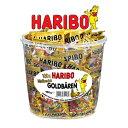 HARIBO ハリボーグミ ミニ ゴールドベア ドラム 980g おやつ グミ キャンディー Gold Baren 濃縮還元果汁 個包装 100袋 6種類 フル...