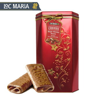 Loc Maria巧克力可麗餅520g rokumariamiruku Chocolate Crepes比利時巧克力餅幹0767650