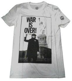 【JOHN LENNON】ジョン レノン「WAR IS OVER!」Tシャツ