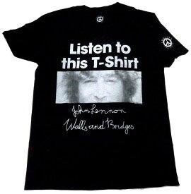 【JOHN LENNON】ジョン レノン「LISTEN LADY」Tシャツ