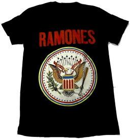 【RAMONES】ラモーンズ「FULL COLOUR SEAL」Tシャツ