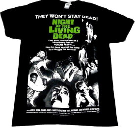 NIGHT OF THE LIVING DEAD「LARGE POSTER」Tシャツ