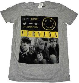 【NIRVANA】ニルヴァーナ「BLEACH PHOTO」Tシャツ