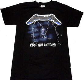 【METALLICA】メタリカ「RIDE THE LIGHTNING」Tシャツ