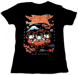 【BABYMETAL】ベビーメタル[PIXEL TOKYO」Tシャツ