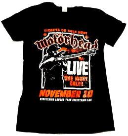 【MOTORHEAD】モーターヘッド「LIVE」Tシャツ