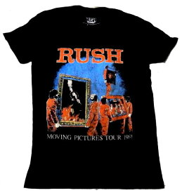 【RUSH】ラッシュ「MOVING PICTURES TOUR 1981」Tシャツ