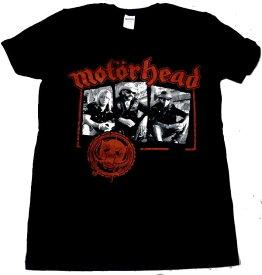 【MOTORHEAD】モーターヘッド「STAMPED」Tシャツ