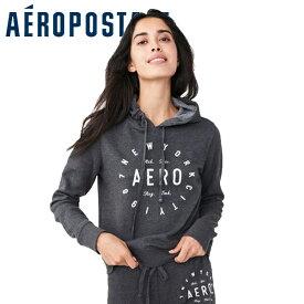 Aero エアロポステール正規品レディースパーカー フーディ New York Circle Pullover Hoodie プルオーバーパーカー ニューヨーク2129-017インポートブランド海外買い付け正規【楽ギフ_包装】