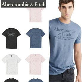 Abercrombie & Fitchアバクロンビーアンドフィッチ正規品メンズGarment Dye Logo Tee半袖TEEシャツ 白黒グレーピンク123-238-2257【楽ギフ_包装】