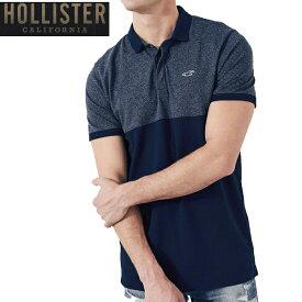 HOLLISTERホリスター正規品ストレッチポロシャツStretch Pique Shrunken Collar Polo 324-224-0619-201インポートブランド海外買い付けインポートブランド海外買い付け