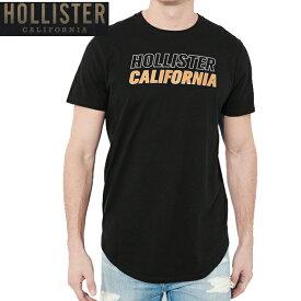 HOLLISTERホリスター正規品メンズ半袖Tシャツ黒バックプリントGuys Print Logo Graphic Tee 323-243-2368-900インポートブランド海外買い付け【楽ギフ_包装】
