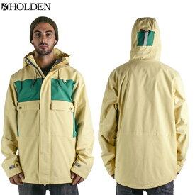 HOLDEN ホールデン [在庫売りつくし]Seville Jacket SVJ-15-N-JK Soft Yellow-Emerald ジャケット メンズ スノーボードウェア【あす楽対応】