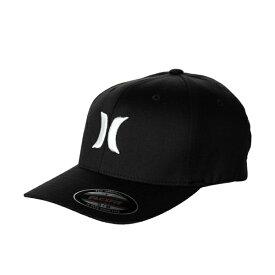 Hurley Men's One & Only Black Flex-Fit Hat  キャップ MAFCOOBLK WHT 帽子【あす楽対応】【楽ギフ_包装】