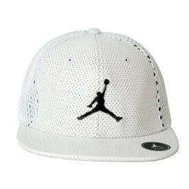 Nike ナイキ正規品ユース 子供サイズ ジョーダン帽子 キャップYouth Jordan All Net Snapback Cap Hat帽子ホワイト9A1769-001インポートブランド海外買い付け【楽ギフ_包装】