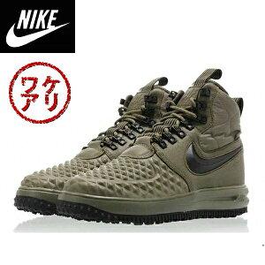 【訳ありアウトレット】Nikeナイキ正規品スニーカールナフォースワン ダックブーツ Lunar Force 1 Duckboot 17 medium olive/ black-wolf grey オリーブ並行輸入インポートブランド海外買い付け