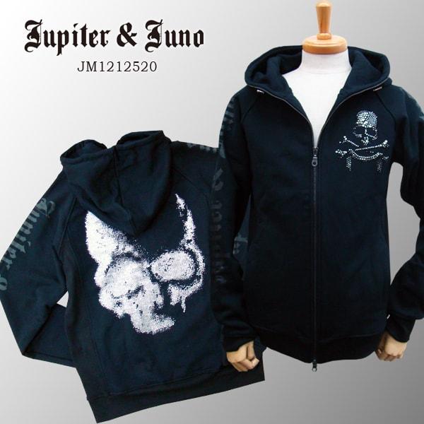 Jupiter&Juno ジュピターアンドジュノLame Skull Parka(ラメ スカル パーカー)※※※