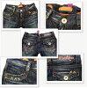 * 霍奇基斯牛仔褲短牛仔褲牛仔韓國品牌復古時尚腿出售 HKL DP005