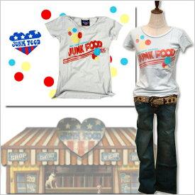 JUNK FOOD ジャンクフード Lady レディース Tシャツ BREAD セレブ ブランド セール 半袖