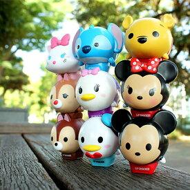 【ディズニーグッズ(公式)】ディズニー ツムツムリップ全9種類(ミッキーマウス / ティンカーベル / ドナルドダック / ティガー / チップ / デール / プー / スティッチ / マリー)全米で大人気のディズニーグッズ!Lip Smacker
