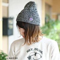 【DM便可】Championチャンピオン帽子○新作○ニット帽(57-59cm)ジュニアレディースメンズ