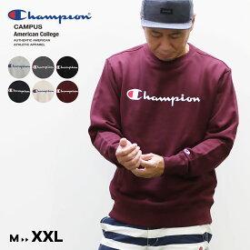 Champion チャンピオン メンズ○19FW新作○ロゴ クルーネックスウェットシャツ(M L XL XXL)トレーナー メール便不可