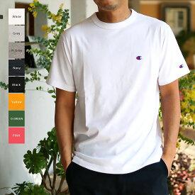 Champion チャンピオン メンズ Cロゴメンズ Tシャツ(M L XL)半袖Tシャツ 【メール便可】