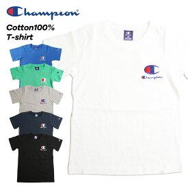 Champion チャンピオン 刺繍ロゴ半袖Tシャツ(100cm 110cm 120cm 130cm 140cm 150cm 160cm)【メール便可】cx6854