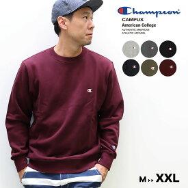 Champion チャンピオン メンズ○20FW新作○Cロゴ クルーネックスウェットシャツ(M L XL XXL)トレーナー メール便不可