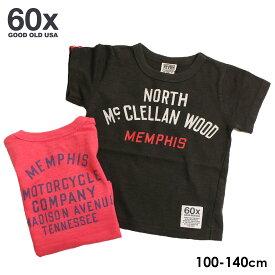 《値下げ★セール》F.O.KIDS エフオーキッズ 60x THE Mc.CLELLAN Tシャツ(100cm 110cm 120cm 130cm 140cm)【メール便可】