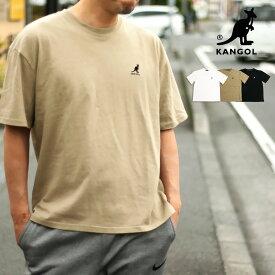 KANGOL ワンポイント Tシャツ(S M L XL)【メール便可】メンズ レディース ユニセックス