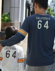 【メール便可】 ヴィンテージロンT 長袖Tシャツ(160cm 165cm 175cm)ジュニア レディース メンズ