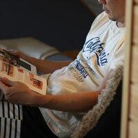【DM便可】noadepartmentstore.ノアデパートメントストア○新作○OrangeCountyTシャツ(160cm165cm175cm)Noa-T親子ペアピンクホワイトミントグリーン