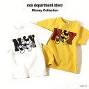 【セール★20%OFF】ディズニー 親子ペア お揃い noa department store. NY ミッキーマウスデザインTシャツ(80cm 90cm 100cm 110cm 1…