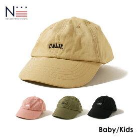 ベビー キッズ 帽子 浅型ワークチノキャップ(KS KM)【メール便可】ローキャップ ベージュ ブラック ピンク カーキ CAP【セール対象外】