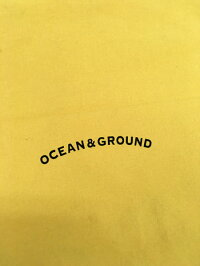 OCEAN&GROUNDオーシャンアンドグラウンド○新作○コットン巾着(大)【メール便可】