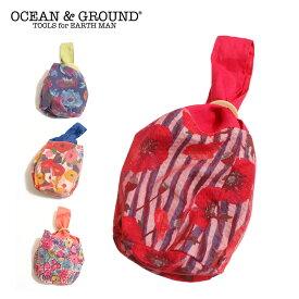 《値下げ★セール》OCEAN&GROUND オーシャンアンドグラウンド 浴衣チュール巾着バッグ(F)【メール便可】