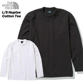 ノースフェイス THE NORTH FACE L/S Nuptse Cotton Tee (M L XL) ロングスリーブヌプシコットンティー メンズ 長袖Tシャツ【メール便不可】