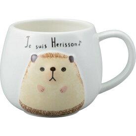 サンアート SAN2971 マグ(ハリネズミ) ハリネズミ グッズ 雑貨 マグカップ おしゃれ かわいい キッチン ランチ 食器 飲料 陶製 ギフト プレゼント