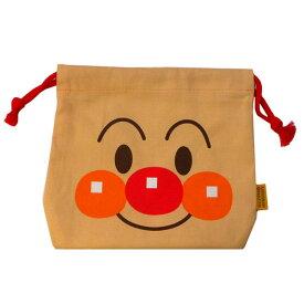 012039/ANP-800 アンパンマンフェイス巾着「アンパンマン」/キッズ/キャラクター/雑貨