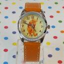 MKN-004-8/【Field work/フィールドワーク】ディズニー腕時計(プー/オレンジ)/Disney/バンド/リスト/Watch/ファッシ…