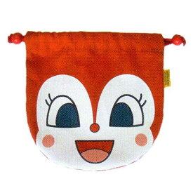 【あす楽対応】012046/ANP-800 アンパンマンフェイス巾着「ドキンちゃん」/キッズ/キャラクター/雑貨