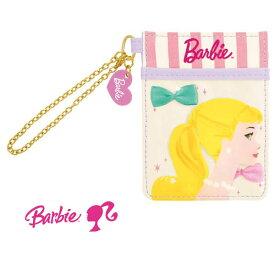 バービー Barbie 30960 ZIP パスケース パープル 定期入れ キャラクター 通勤 通学 BAG バッグ 服飾 おしゃれ 雑貨 IC カード【ネコポス便発送可】