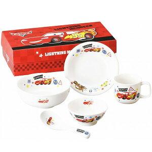 カーズ フレンズ 707738 Disney PIXAR こども食器ギフトセット ディズニー ピクサー 金正陶器 日本製 茶碗 マグ フルーツ皿 ラーメン丼 レンゲ